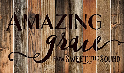 Amazing Grace Rustic Wood Design 28 X 47 Wood Large Barn