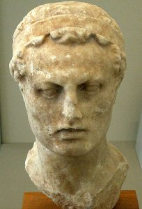 Bust of Antiochus IV Epiphanes. Source: Wikipedia.org.