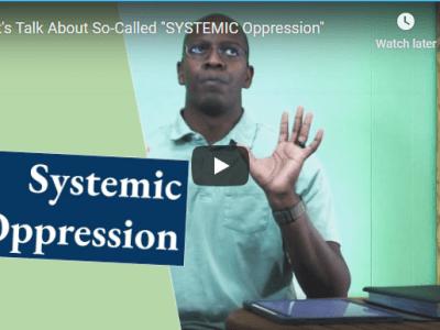 """Christian YouTube artist, John Stapleton, shares on """"Let's Talk About 'Systemic OPPRESSION'"""". References: Daniel 4, Romans 12, Revelation 17"""
