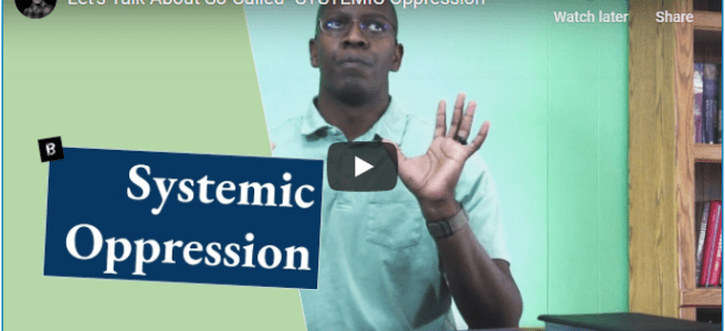 "Christian YouTube artist, John Stapleton, shares on ""Let's Talk About 'Systemic OPPRESSION'"". References: Daniel 4, Romans 12, Revelation 17"