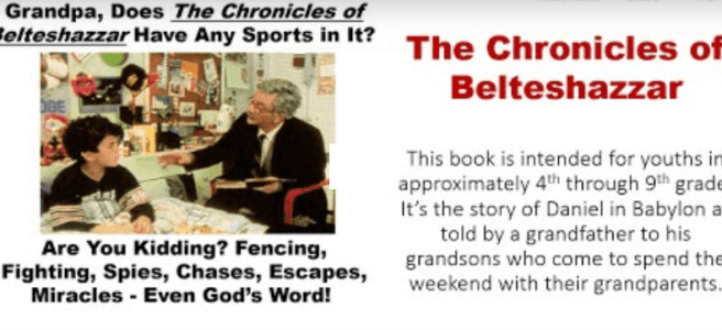 chronicles of belteshazzar chapter 1