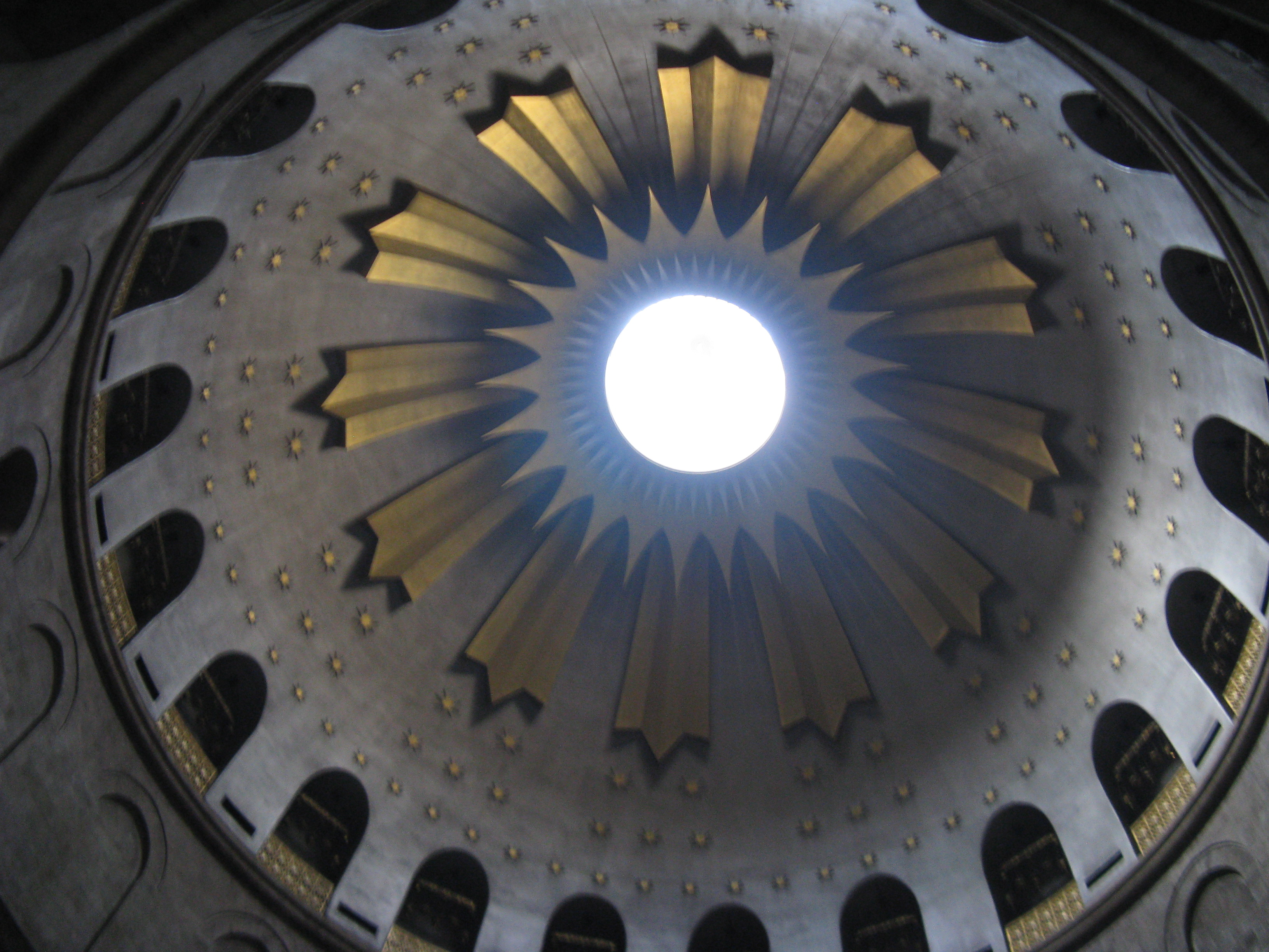 Dome above the tomb of Christ