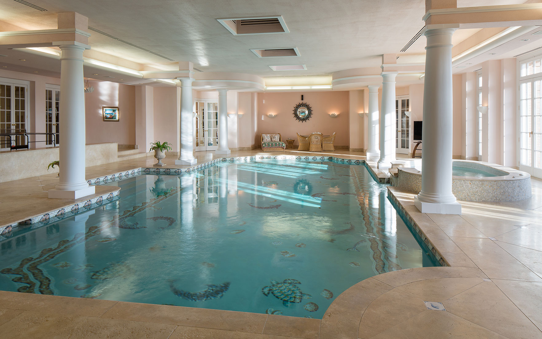 Indoor Swimming Pools: Luxury Living