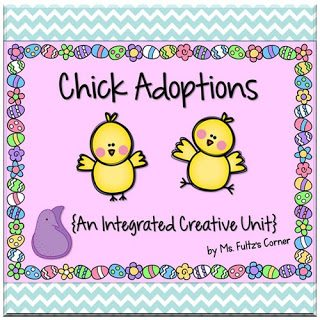 http://www.teacherspayteachers.com/Product/Chick-Adoptions-Creative-Mini-Unit-for-Spring-618968