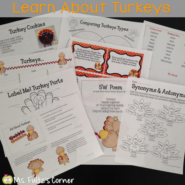 http://www.teacherspayteachers.com/Product/Turkey-Unit-for-Big-Kids-409839