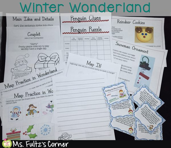 Winter Wonderland Unit for Elementary School: Alternative to Christmas