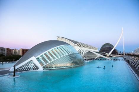 Europa, Spanien, Valencia, City of Arts and Sciences