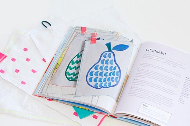 Geschirrtücher nähen bemalen Das große BLV Kreativ-Buch