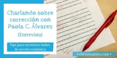 Charlando sobre corrección con Paola C. Álvarez