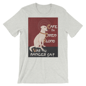 chien dog t-shirt