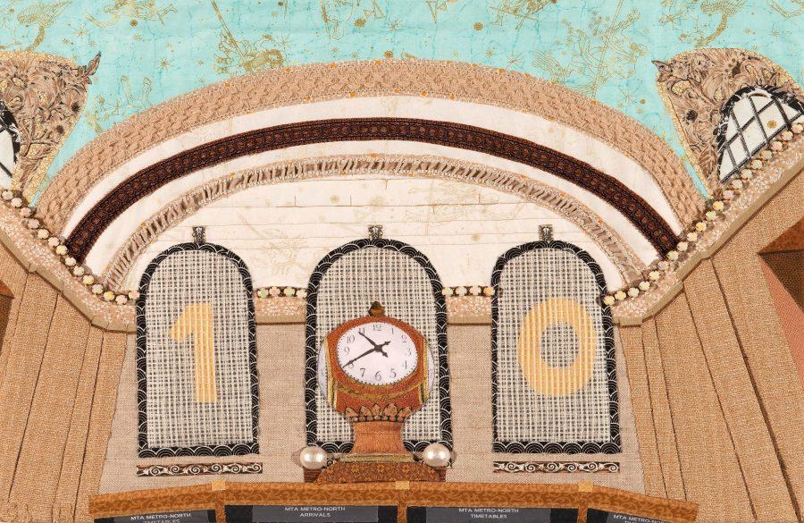 clock quilt