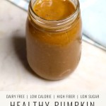 Healthy pumpkin smoothie recipe with protein, fiber, healthy fats and collagen https://christinacarlyle.com/pumpkin-smoothie/