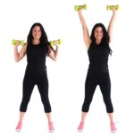 Overhead Press Arm Workout by trainer Christina Carlyle