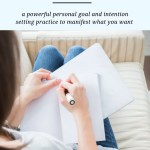 set your goals intentions and resolutions