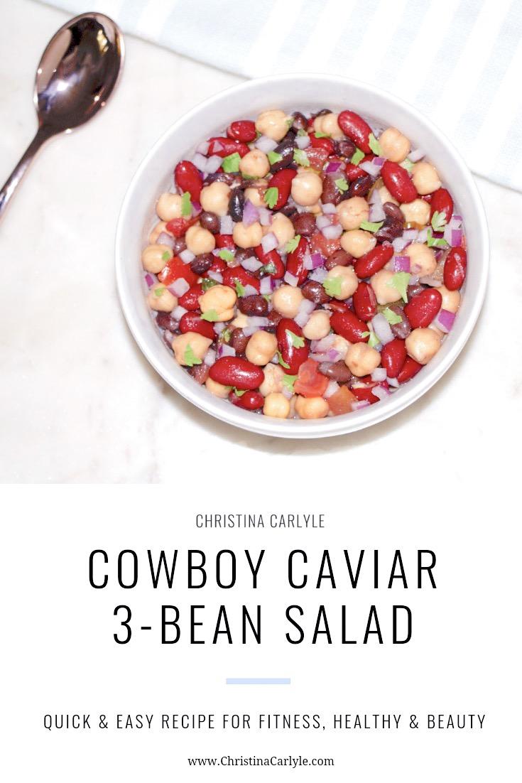 Cowboy Caviar 3 bean salad