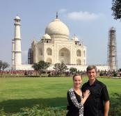 doug and I at taj