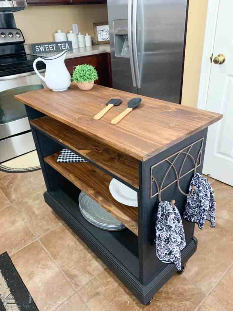Kitchen Island After Picture