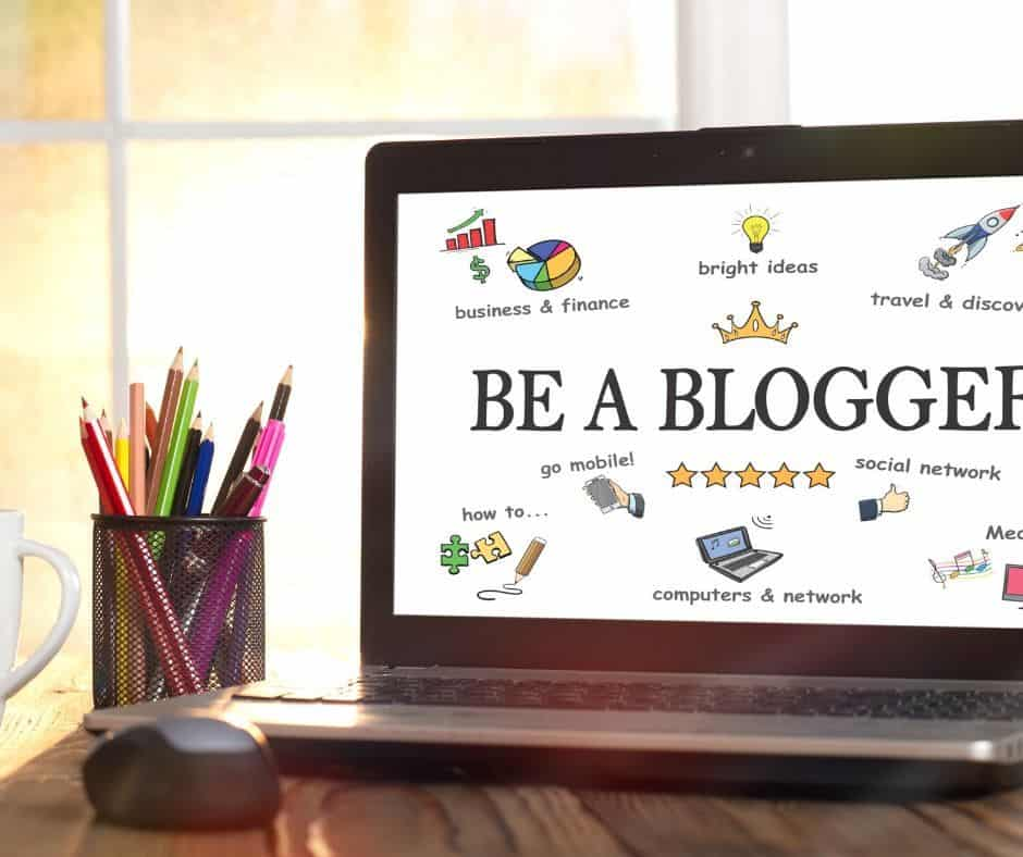 My Blogging Journey Graphic