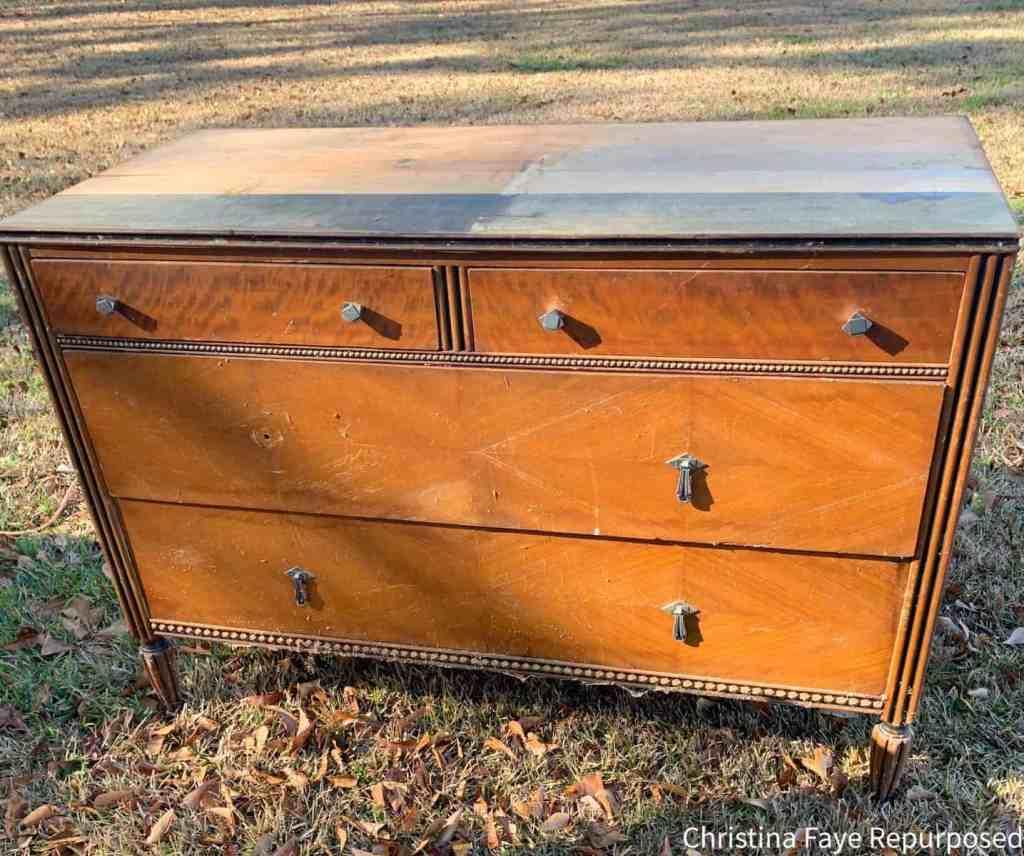 Free vintage dresser before