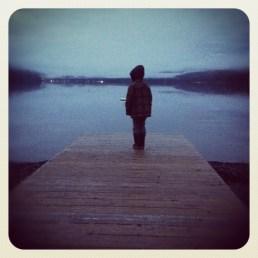 On the Pier - Cultus Lake near Sardis, BC - January 2012