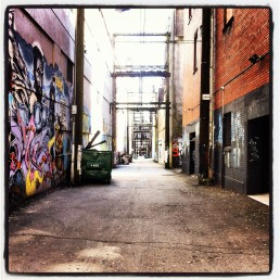 Back alley - Vancouver - March 2012