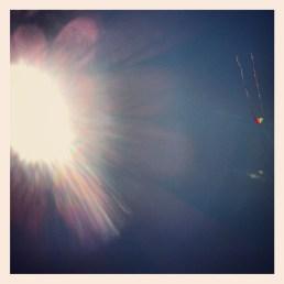 Kite flying - Locarno Beach -