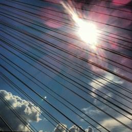 Across the bridge - June 2012