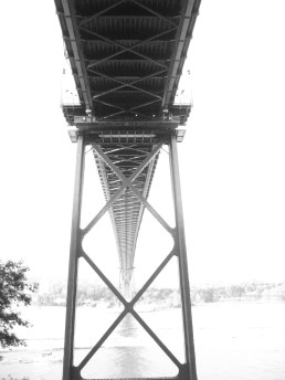 The Lion's Gate Bridge, Vancouver, BC - Fall 2006
