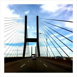 Alex Fraser Bridge - Fall 2011