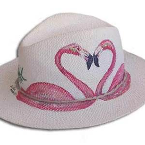 FLAMINGO_LOVERS_HANDMADE_HAT