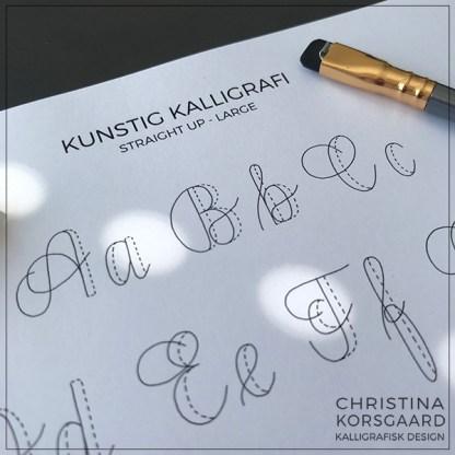 Kunstig kalligrafi - oversigt