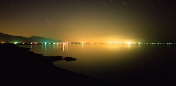 Salton Sea Night View