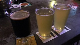 Almanac Sour Stout and 2 ciders