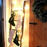 How To Hang Stockings On A Ladder Christina Maria Blog