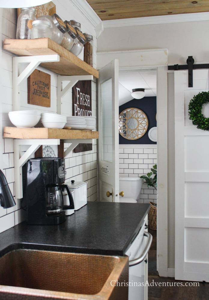 Leathered Granite Counter Tops - Christina Maria Blog on Farmhouse Granite Countertops  id=33704
