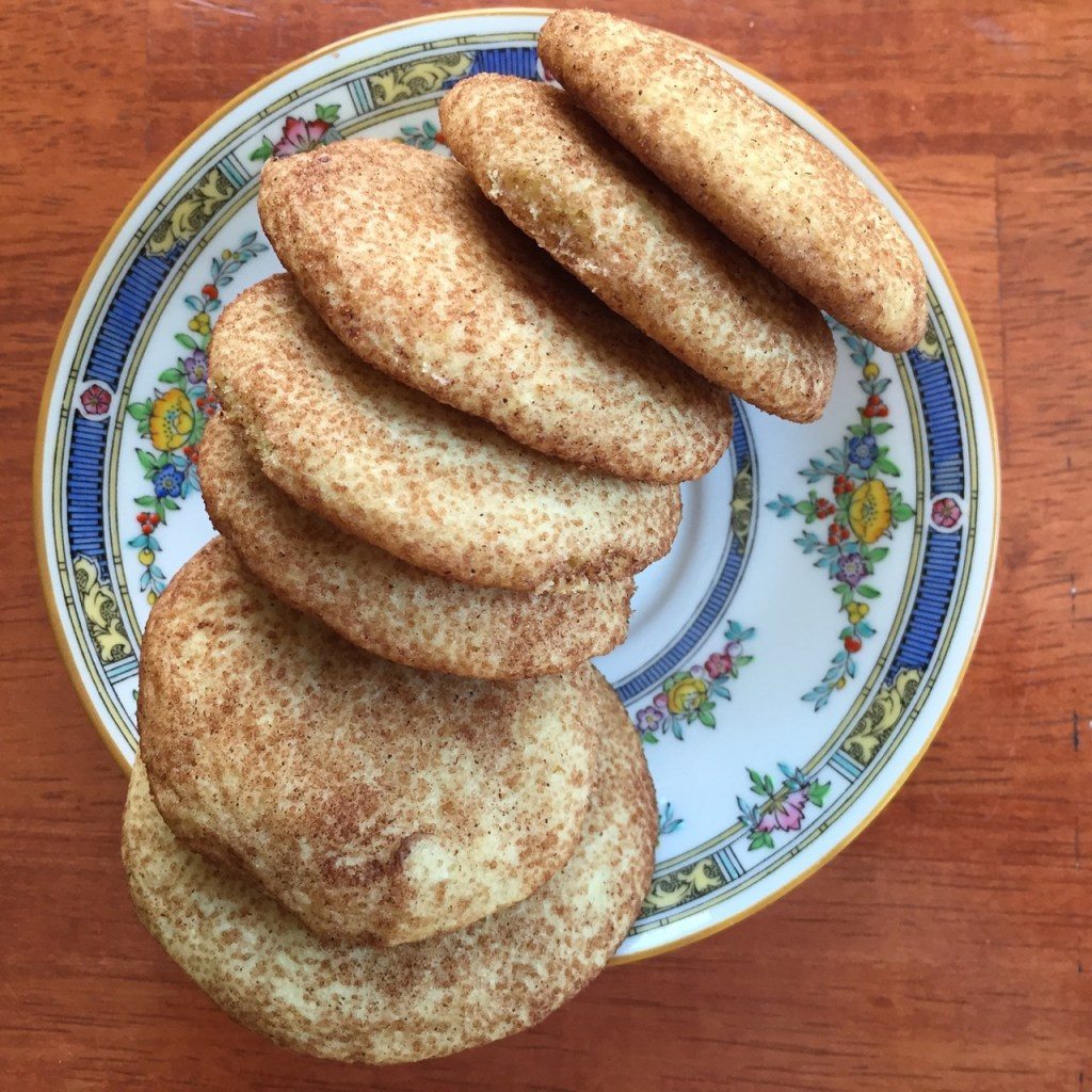 snickerdoodle cookie