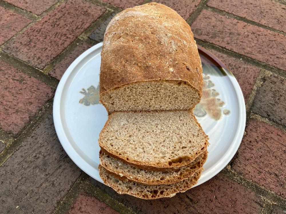 Whole Wheat Oatmeal Honey Bread