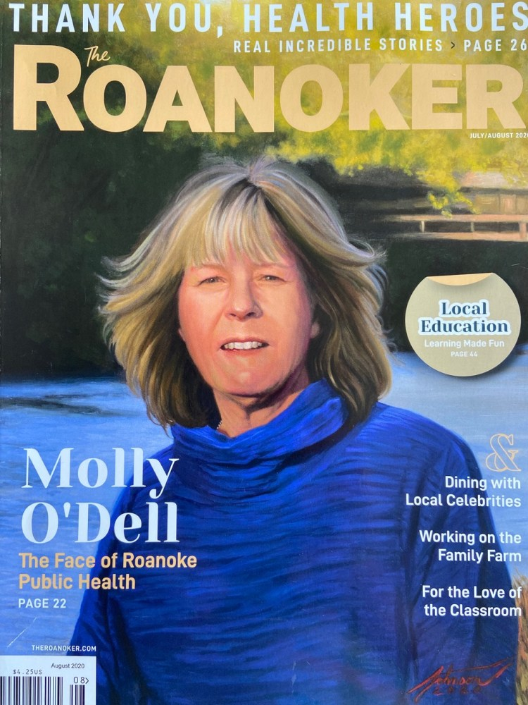 molly o'dell magazine cover