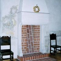Veckans hus: Öppen spis / Fireplace