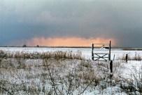 Winter sky at Klagshamn, Sweden