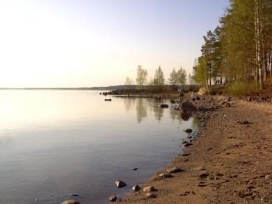 Spring at Luleå beach