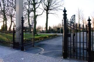 Sankt Pauli kyrkogårdsgrindar / The gates of Sanct Paul´s churchyard