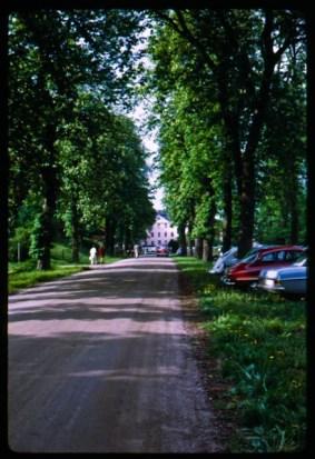Christinehof castle circa 1970.
