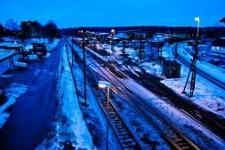 Blue hour in Alvesta.