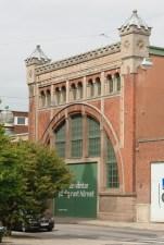 Elverket i Malmö ritades av John Smedberg 1900. / The architect of the power house was John Smedberg.
