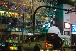 Ferris wheel by night in Nagoya