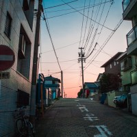 Shadowed street