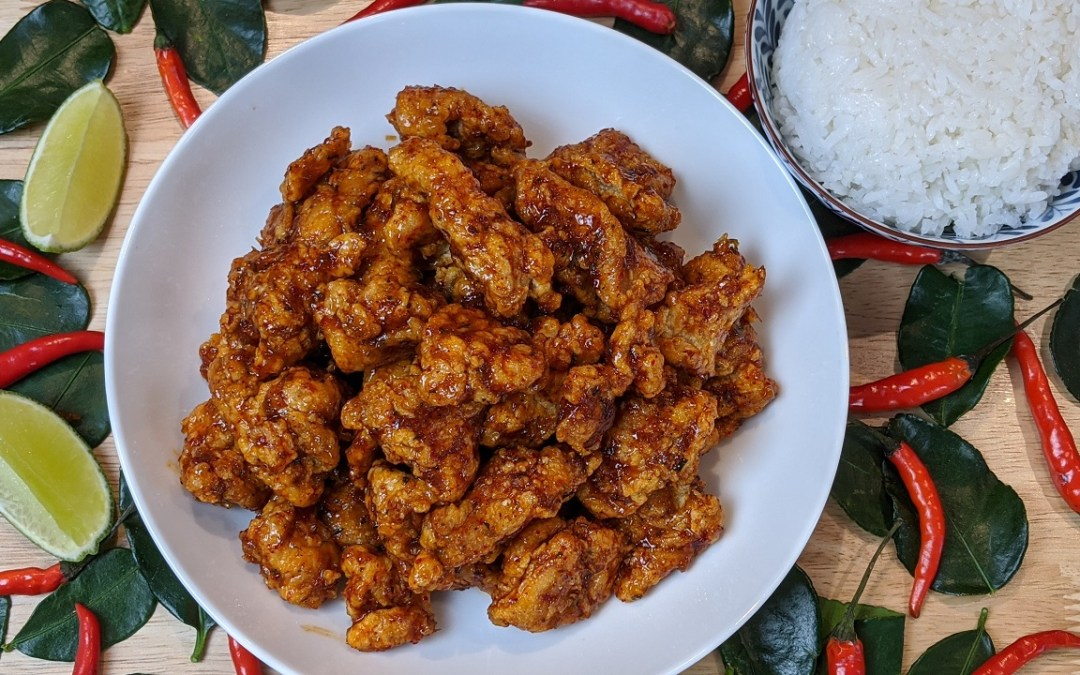 Poulet frit chili thaï
