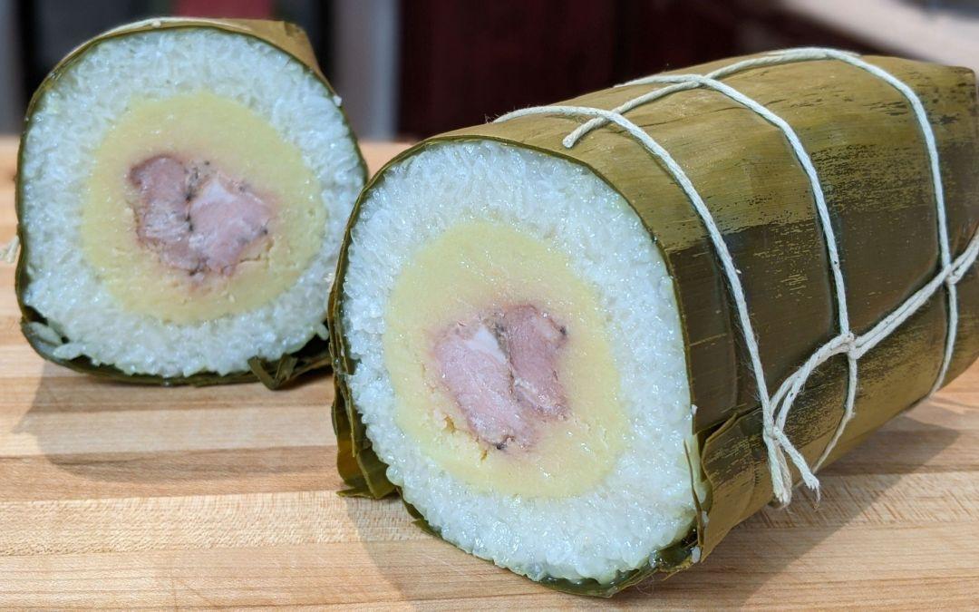 Banh tet (gâteau de riz du nouvel an)