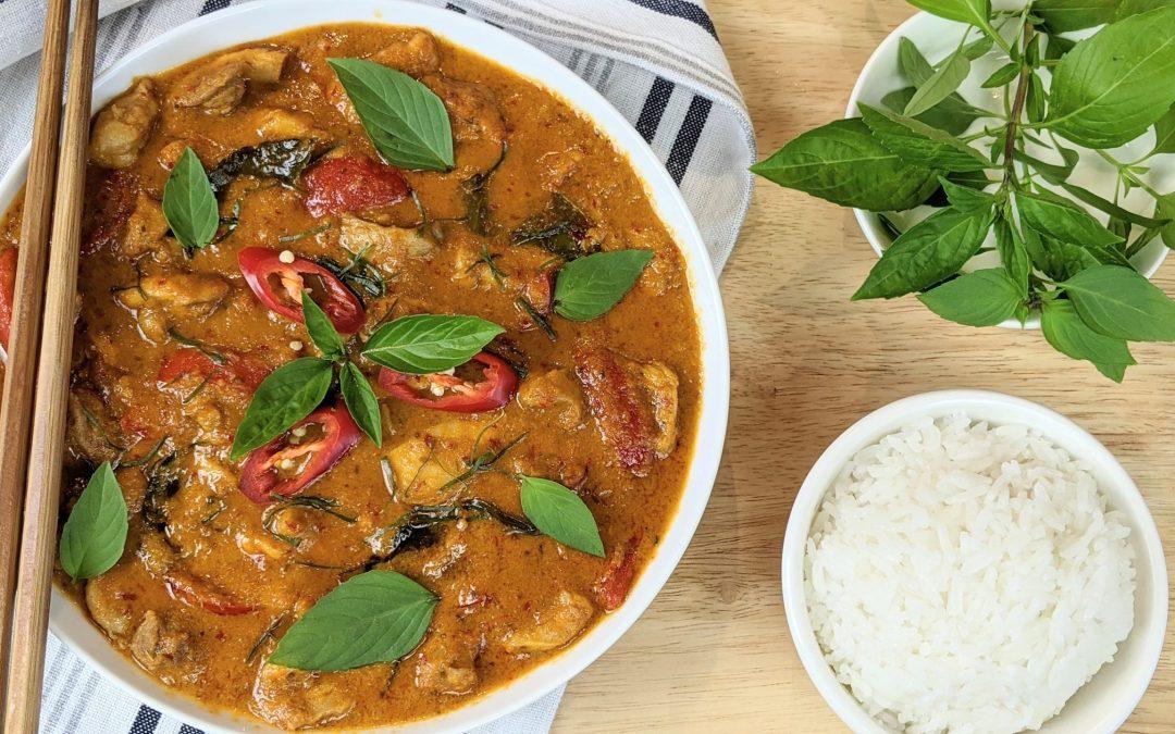 Curry Panang au poulet